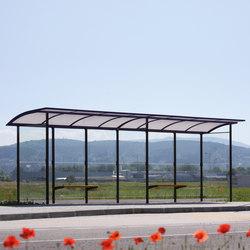 skandum | Extended bus stop shelter | Bus stop shelters | mmcité