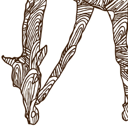 WILD GIRAFFE | Quadri / Murales | Wall&decò