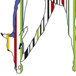 Wild Giraffe | Arte | Wall&decò