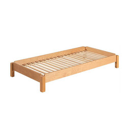 stacking bed beech  DBF-156-01 | Kids beds | De Breuyn
