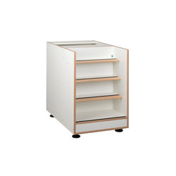 Floor unit with stairs  DBF-303-10 | Baby changing tables | De Breuyn
