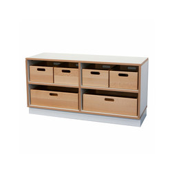 Shelf Unit DBF-602-6-10 | Children's area | De Breuyn