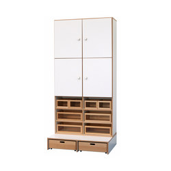 High Modul DBF-623-5-10 | Kids storage furniture | De Breuyn