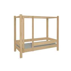 Four Poster Bed DBB-100B | Children's beds | De Breuyn