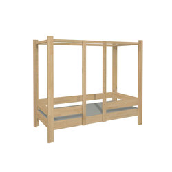 Four Poster Bed DBB-100A | Children's beds | De Breuyn