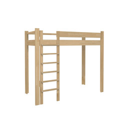 Youth Loft Bed DBB-100B | Children's beds | De Breuyn