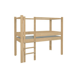 Play Bed Low DBB-100B | Children's beds | De Breuyn