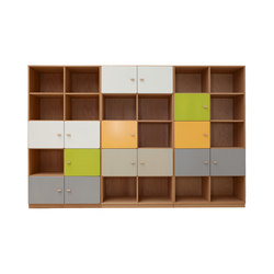 Cabinet Combination DBB-271 | Kids storage furniture | De Breuyn