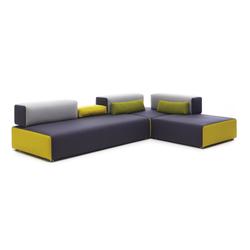 Ponton Corner sofa | Sistemi di sedute componibili | Leolux