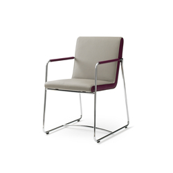 Spring Orchid Chair | Visitors chairs / Side chairs | Leolux