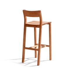 Kos Teak Barchair | Bar stools | Tribù