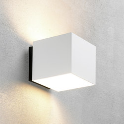 Welcome White shiny | Outdoor wall lights | Embacco Lighting