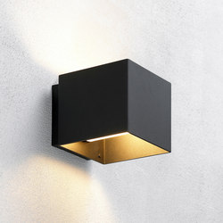 Welcome Black | Outdoor wall lights | Embacco Lighting