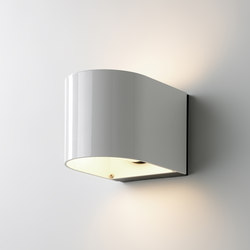 Light U White shiny | Outdoor wall lights | Embacco Lighting