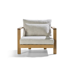 Pure Sofa Armchair Casual | Garden armchairs | Tribù