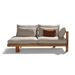Pure Sofa Meridienne Casual | Gartensofas | Tribù