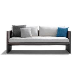 Terra Sofa Cush | Garden sofas | Tribù