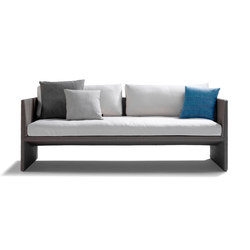 Terra Sofa Cush | Sofás de jardín | Tribù