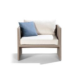 Terra Sofa Armchair | Garden armchairs | Tribù