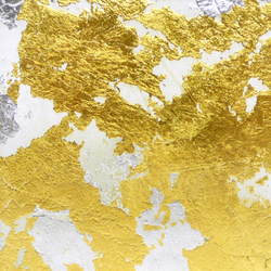 Goldsmith | Gold Silver Leaf | Dekoratives Glas | Conglomerate