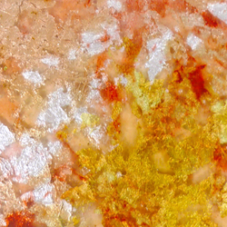 Goldsmith | Rosey Gold Leaf | Decorative glass | Conglomerate