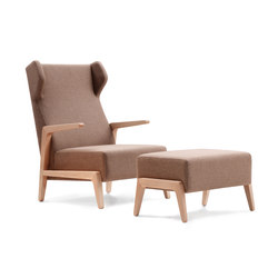 Boomerang Chill with pouf | Fauteuils | Sancal