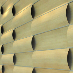 Wave Wall Alternating | Planchas de madera | Wovin Wall