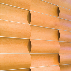 Wave Wall Alternating Wall Panels From Wovin Wall