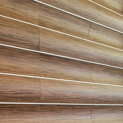Wave Wall Continious | Wood panels | Wovin Wall