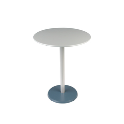 Concorde Pedestal Table 60cm | Bistro tables | FERMOB