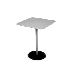 Concorde Square Pedestal Table 57x57cm | Dining tables | FERMOB