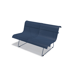 Ellipse Bench 2-seater | Garden benches | FERMOB