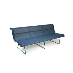 Ellipse Bench 3-seater | Garden benches | FERMOB