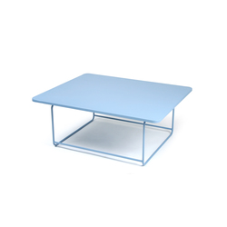 Ellipse tiefer Tisch fix | Coffee tables | FERMOB