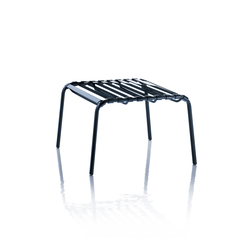 Striped Foot-stool | Garden stools | Magis