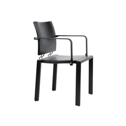 Quadro W | Visitors chairs / Side chairs | Dietiker
