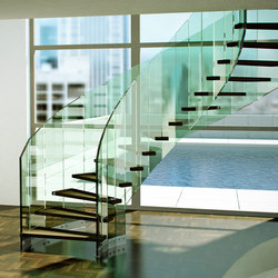 Fly | Glass stairs | Siller Treppen