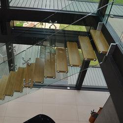 Mistral Spider Freestanding   Staircase systems   Siller Treppen