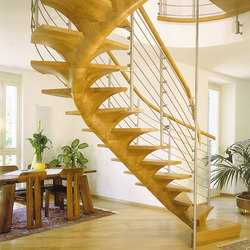 Pentagon | Wood stairs | Siller Treppen