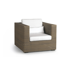 Aspen 1 seat | Garden armchairs | Manutti
