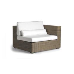 Aspen left seat | Garden armchairs | Manutti
