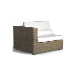Aspen right seat | Garden armchairs | Manutti