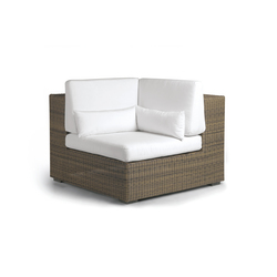 Aspen corner seat | Gartensessel | Manutti