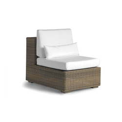 Aspen small middle seat | Garden armchairs | Manutti
