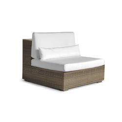 Aspen large middle seat | Garden armchairs | Manutti