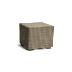 Aspen small footstool/sidetable | Gartenhocker | Manutti