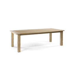Asti rectangular dining tables | Garten-Esstische | Manutti
