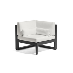 Fuse corner seat | Gartensessel | Manutti