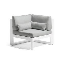 Fuse corner seat | Fauteuils de jardin | Manutti