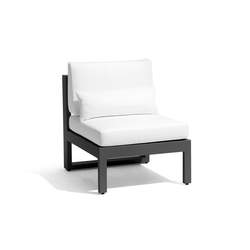 Fuse small middle seat | Garden armchairs | Manutti